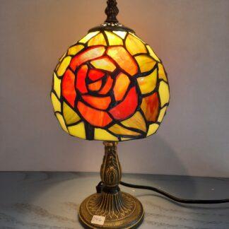 Tiffany Bordlamper, Højde 30-32 cm, Skærm Ø 15-17 cm