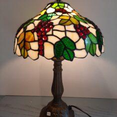 Tiffany Bordlamper, Højde ca 48 cm, Skærm Ø 30 cm