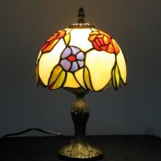 Tiffany Bordlamper, Højde 28-35 cm, Skærm Ø 14-20 cm