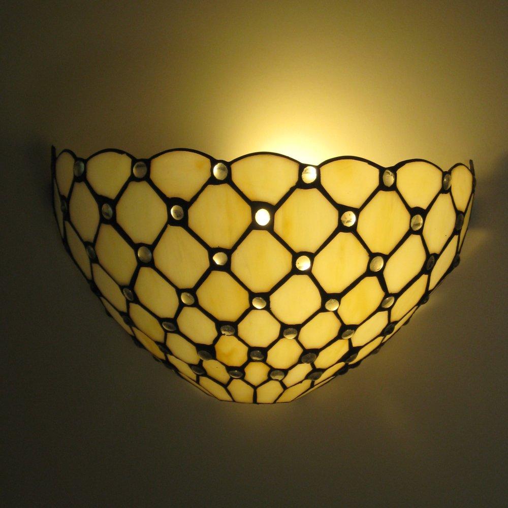 Smuk og enkel Tiffany væglampe