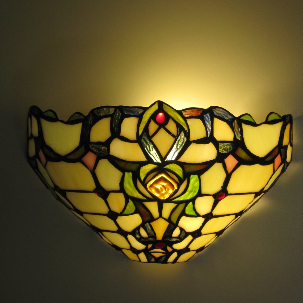 Tiffany væglampe