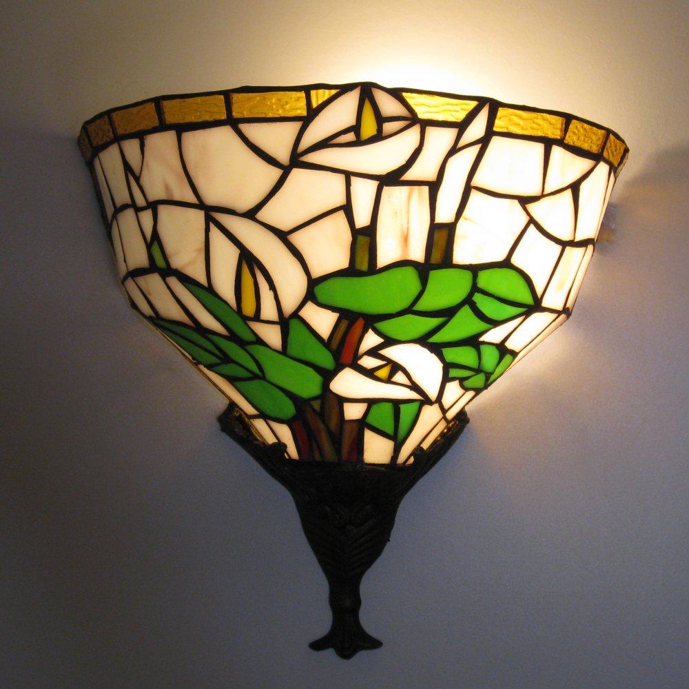 Smuk Tiffany væglampe